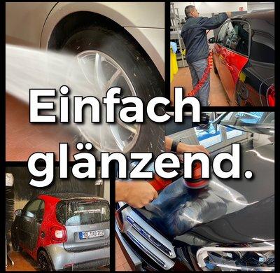 Fahrzeugpflege beim Autodienst Hoppegarten