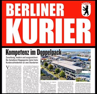 Newsbeitrag Berliner Kurier
