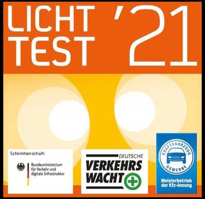 LICHT-TEST 2021. Gutes Licht! Gute Fahrt!